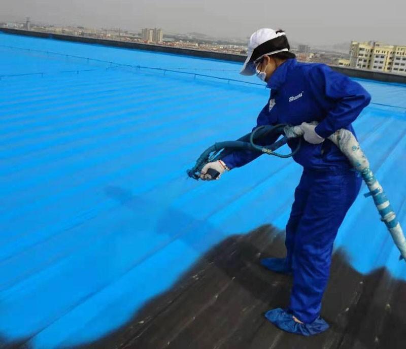 瓦屋面聚脲防腐防水喷涂
