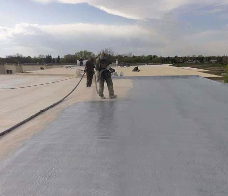 屋顶聚脲防腐防水施工